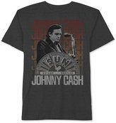 JEM Men's Big & Tall Johnny Cash On Stage Graphic-Print T-Shirt