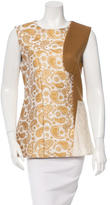 Stella McCartney Paisley-Patterned Wool Top w/ Tags