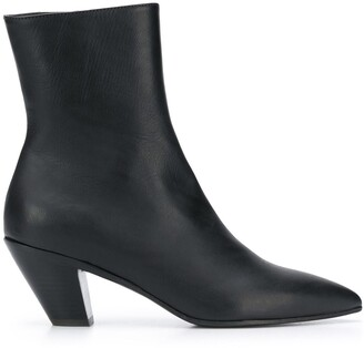 A.F.Vandevorst pointed toe ankle boots