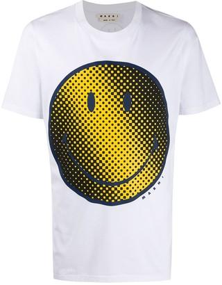 Marni smiley face print T-shirt