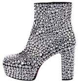 Christian Louboutin 2018 Roxxxy Strass Ankle Boots w/ Tags