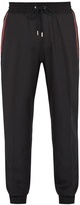 Givenchy Contrast-trim wool-blend track pants