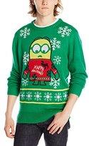 Peanuts Men's Minions Holidays Sweater