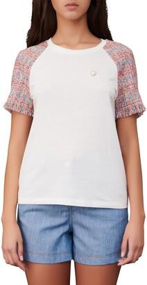 Maje Raglan Sleeve T-Shirt