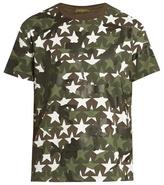 Valentino Camustars-print Cotton-jersey T-shirt