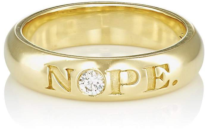"Finn Women's ""Nope"" & ""OK"" Ring"