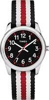 Timex Kid's Analog 30 mm Fabric Strap Watch TW7C10200
