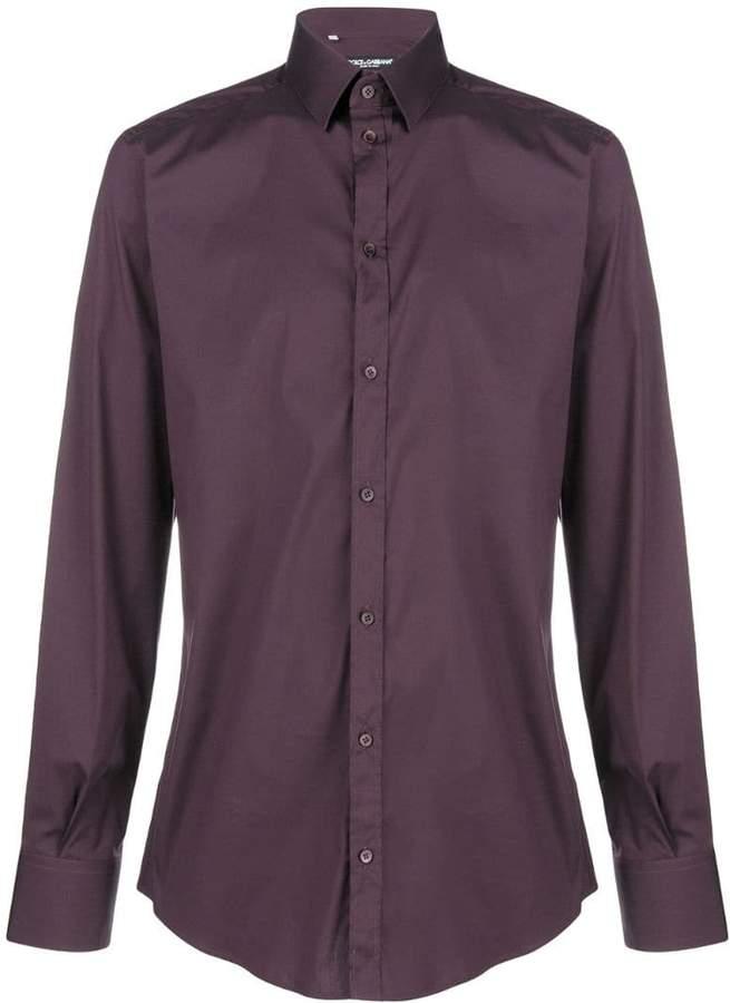 Dolce & Gabbana classic slim-fit shirt