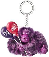Kipling Happy 30, Women's Keyring, Violett (Happy Purple), 9x9.5x4.5 cm (B x H T)