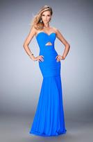 La Femme 22753 Strapless Sweetheart Trumpet Dress