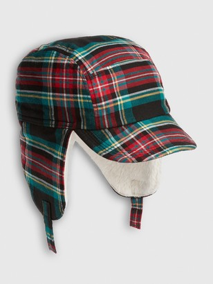 Gap Baby Plaid Trapper Hat