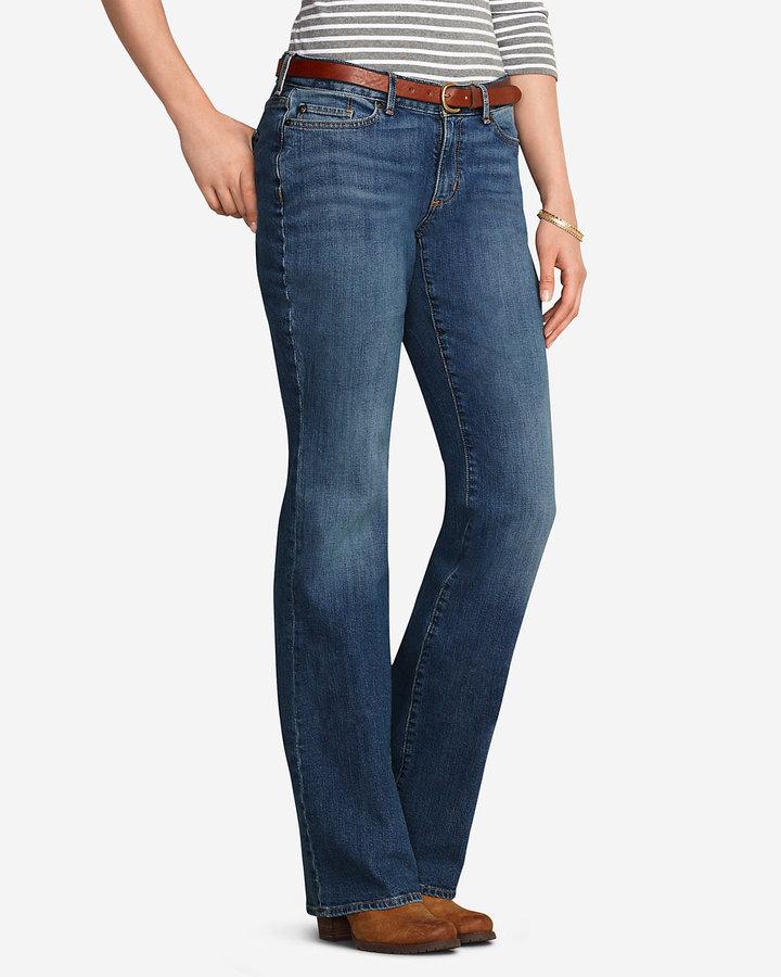 Eddie Bauer Women's Curvy Boot Cut Jeans