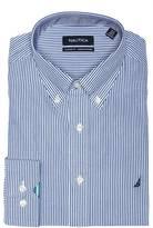 Nautica English Stripe Button Down Dress Shirt