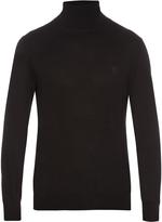 Alexander McQueen Roll-neck cashmere-knit sweater