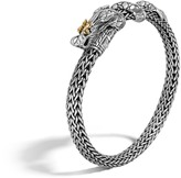 John Hardy Women's Legends Naga 6.5MM Station Bracelet in Sterling Silver and 18K Gold