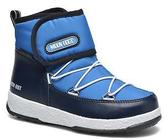 Moon Boot Kids's WE Strap Jr Snow Ankle Boots in Blue