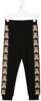 Moschino Kids teddy print sweatpants