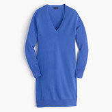 J.Crew Collection Italian cashmere V-neck dress