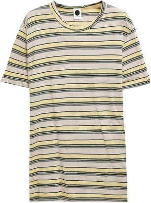 Bassike Striped Organic Cotton-jersey T-shirt