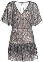 AllSaints MARLEY ZEBRA Summer dress braun
