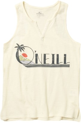 O'Neill Pennie Logo Tank Top (Big Girls)