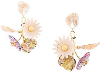 Lele Sadoughi Rapunzel bouquet earrings
