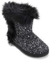 Foot Petals Tweed Slipper Boot