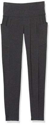 "Spalding Women's Activewear Cotton Blend 25.5"" Inseam Legging"
