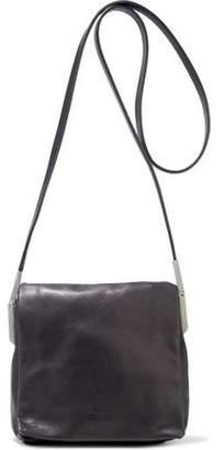 Rick Owens Small Flap Adri Washed-leather Shoulder Bag