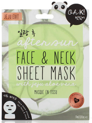 Alöe Oh K! After Sun Sheet Face and Neck Mask 37ml