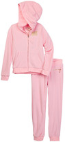 Juicy Couture Terry Hoodie & Pant Set (Big Girls)
