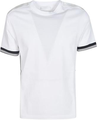 Prada Stripe Inserts T-shirt