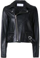 Le Ciel Bleu 'Lamb Leather Riders' jacket