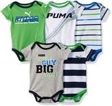 Puma Boys' 5 Pack Bodysuits