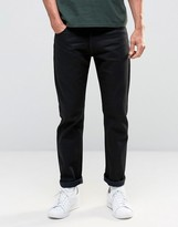 Nudie Jeans Nudie Steady Eddie Dry Black Yd