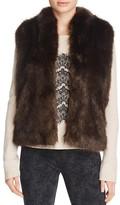 Joie Pruce Reversible Faux-Fur Vest