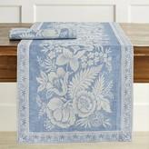 Williams-Sonoma Vintage Floral Jacquard Table Runner