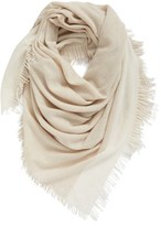 Eileen Fisher Colorblock Wool & Cashmere Wrap