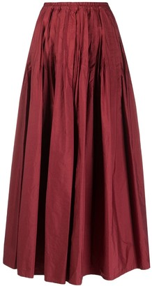 Barena High-Rise Flared Skirt
