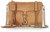 Rebecca Minkoff Mini Mac Almond Suede Crossbody Bag