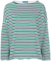 MiH Jeans Extra striped top - women - Cotton - S