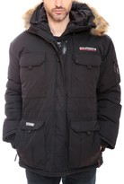 Geographical Norway Baileys Men Zipped Hooded Parka