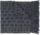 Alexander McQueen - skull print scarf - men - Wool - One Size