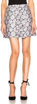Suno Center Ruffle Mini Skirt