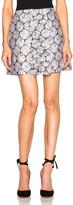 Suno Center Ruffle Mini Skirt
