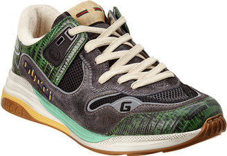 Gucci Tejus Ultrapace Suede Sneaker