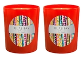 Qualitas Candles Apple Candles (6.5 OZ) (Set of 2)