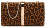 Nina Women's Leopard Clutch