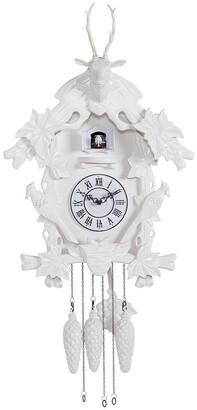 Torre & Tagus Village White Cuckoo Clock