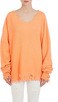 Ben Taverniti Unravel Project Women's Distressed Rib-Knit Cashmere Sweater